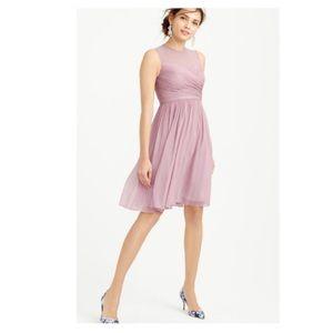 J. Crew | Silk Chiffon Clara Dress | Size 8